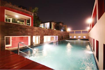 Swimming Pool-Night view