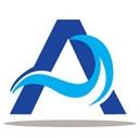 logo blue-white banner